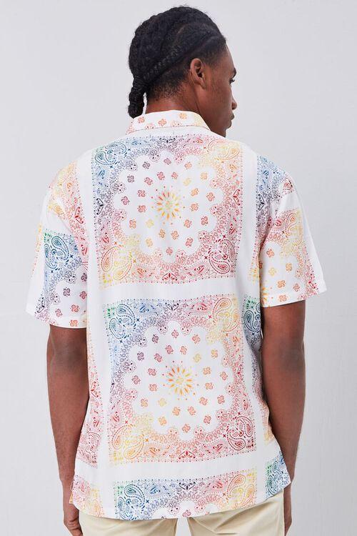 CREAM/MULTI Classic Fit Ornate Print Shirt, image 3