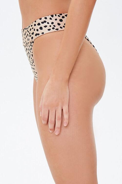 Cheetah High-Cut Bikini Bottoms, image 2