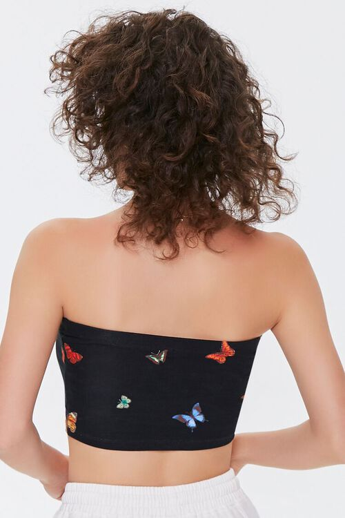 Butterfly Print Tube Top, image 3