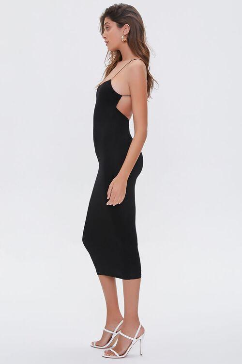 Caged-Back Bodycon Midi Dress, image 2