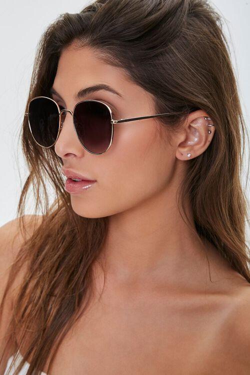 Round Gradient Sunglasses, image 2