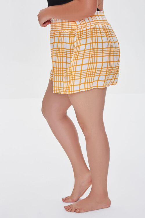 Plus Size Swim Cover-Up Shorts, image 3