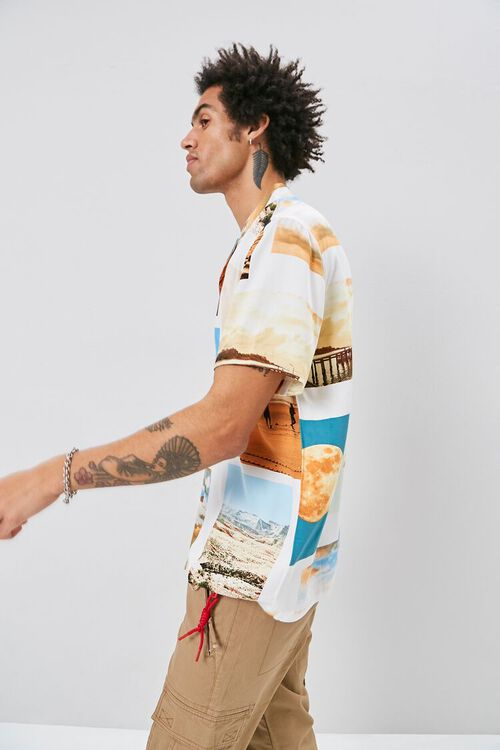 Classic Fit Beach Graphic Shirt, image 2