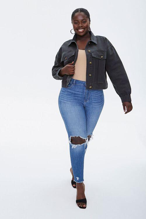 Plus Size Twill Jacket, image 4