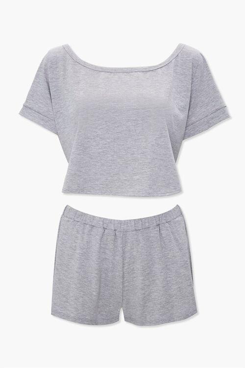 Pajama Tee & Shorts Set, image 1