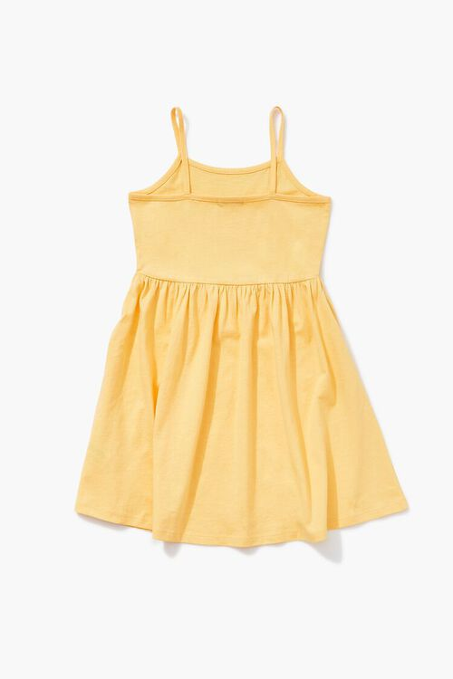 YELLOW/MULTI Girls Bellissima Graphic Dress (Kids), image 2