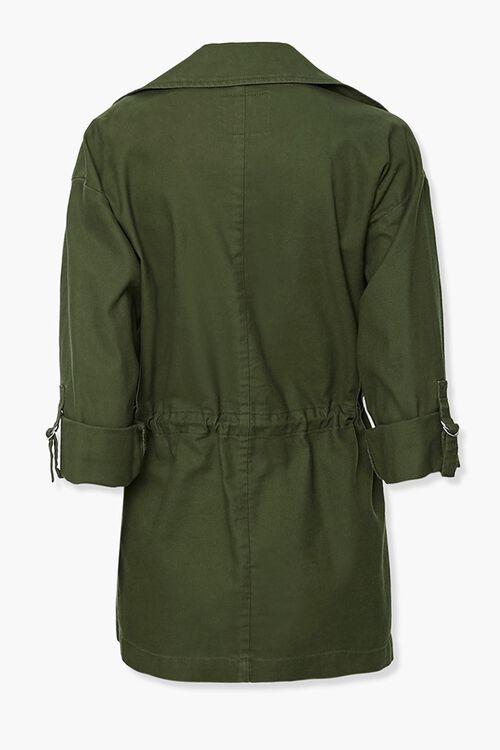 Cuffed Drawstring Jacket, image 2