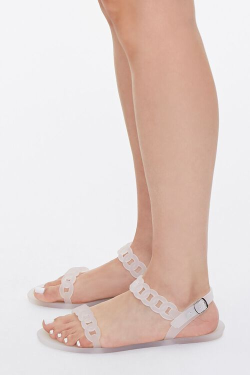 Chain-Strap Jelly Sandals, image 2