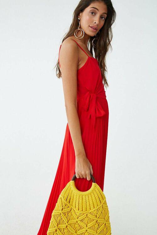 Pleated Maxi Dress, image 1