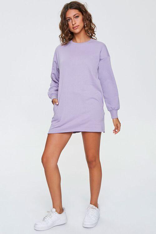 French Terry Sweatshirt Dress, image 4