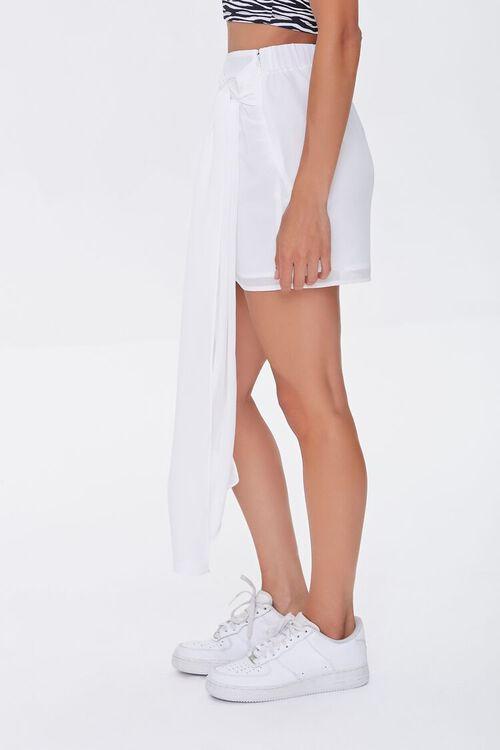 Draped Mini Skirt, image 3