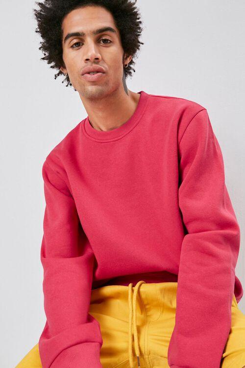 Crew Neck Fleece Sweatshirt, image 1