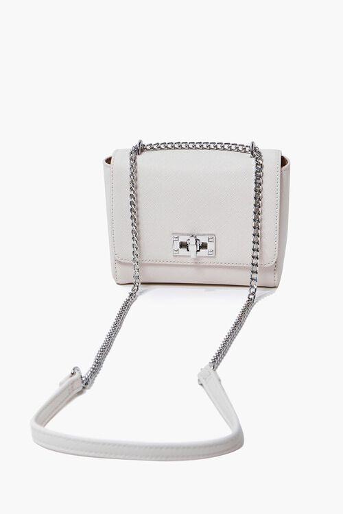 CREAM Faux Leather Crossbody Bag, image 1