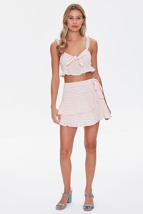 Striped Flounce Mini Skirt, image 5