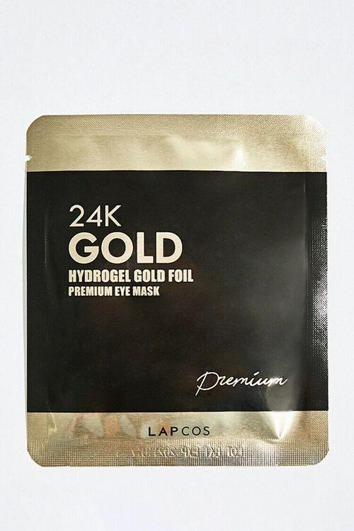 BLACK Lapcos 24K Gold Foil Hydrogel Eye Mask, image 1