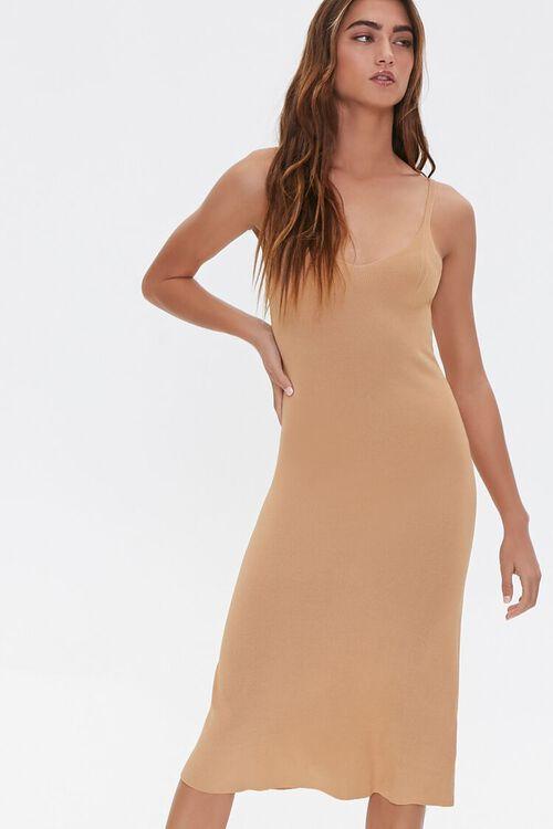 V-Neck Cami Dress, image 1