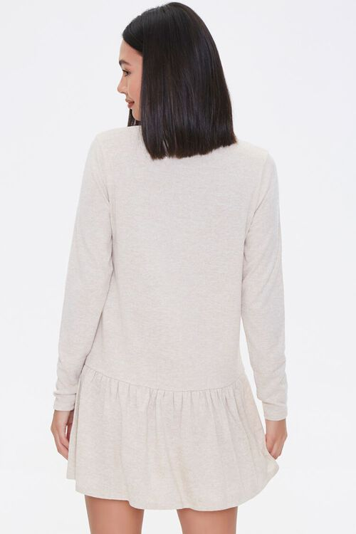 French Terry Drop Waist Dress, image 3