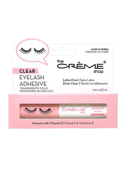 WHITE The Crème Shop Eyelash Adhesive - Clear, image 3