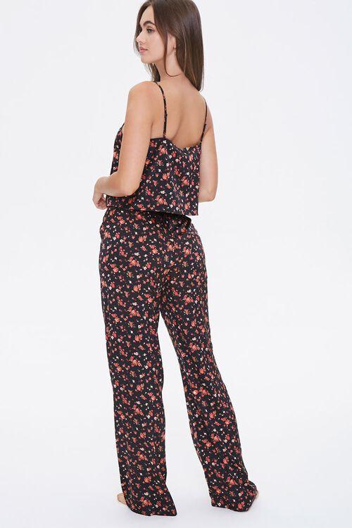 Floral Cami & Pants Sleep Set, image 3