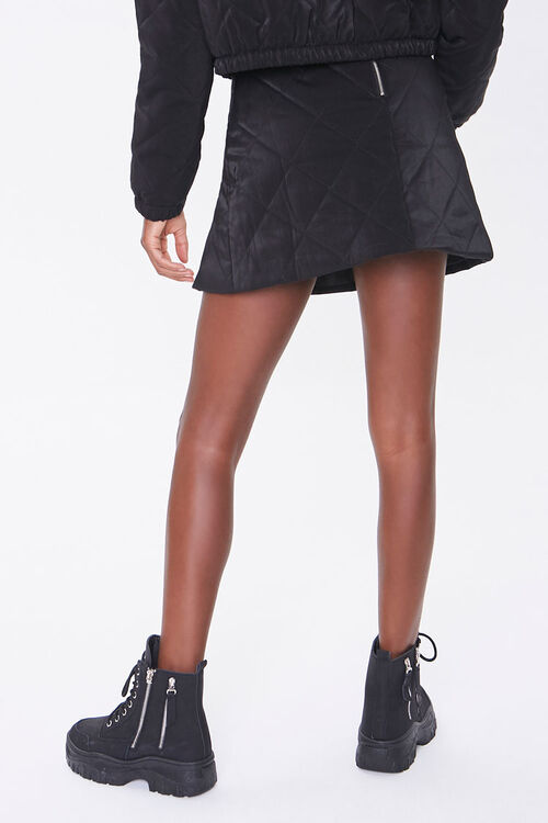 Quilted Mini Skirt, image 4