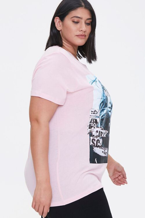 PINK/MULTI Plus Size Woman Graphic Tee, image 2