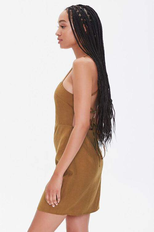 Crisscross Mini Dress, image 2