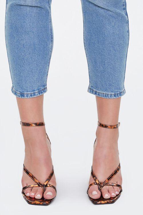 Metallic Tortoiseshell Block Heels, image 2