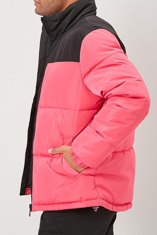 Colorblock Puffer Jacket, image 2