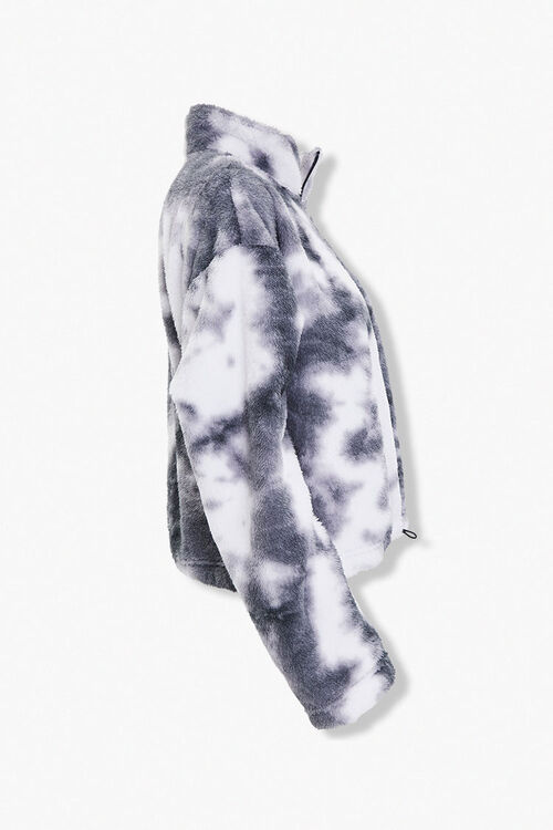 Faux Shearling Half-Zip Pullover, image 2