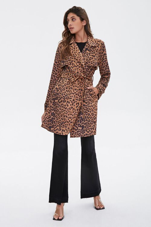 Leopard Print Wrap Jacket, image 4