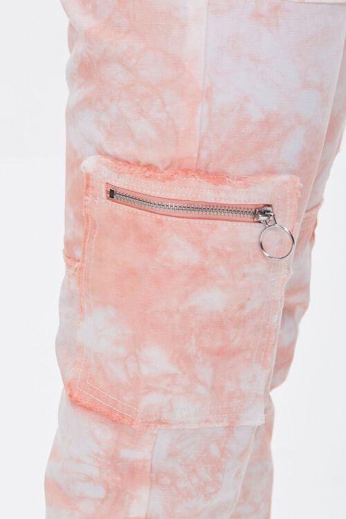 Tie-Dye Utility Ankle Pants, image 6