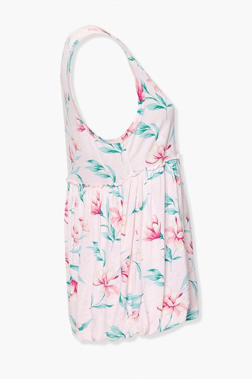 Tropical Floral Sleeveless Top, image 2