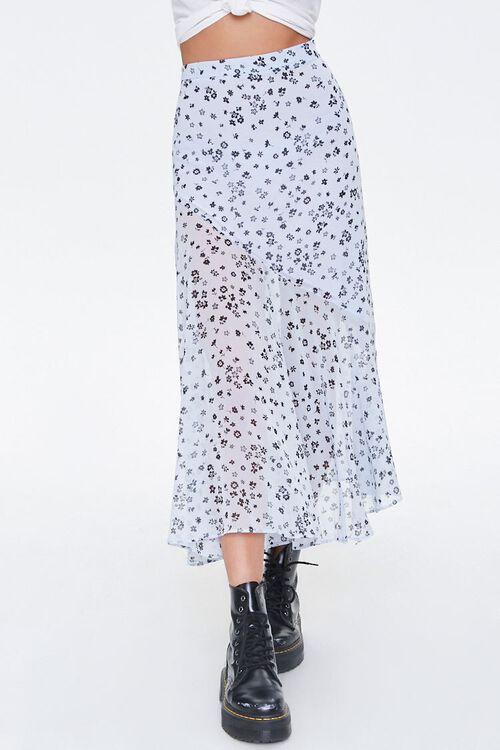 Chiffon Floral Maxi Skirt, image 2
