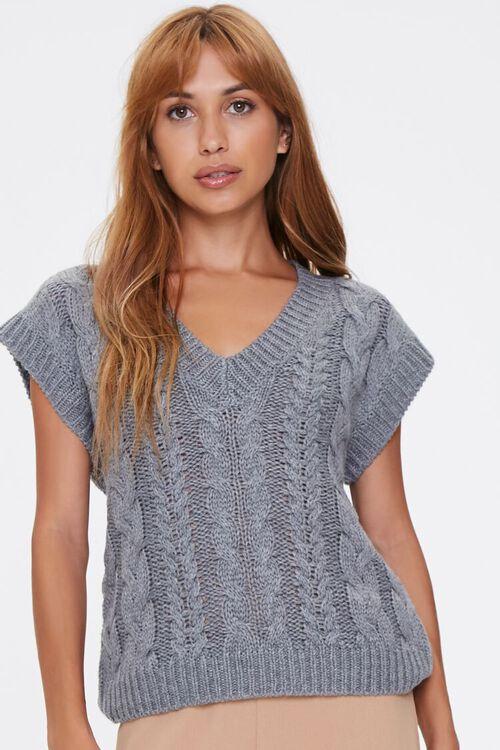 Pointelle Knit Sweater Vest, image 5