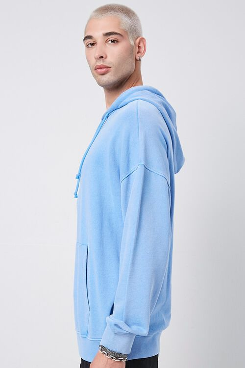 BLUE Kangaroo Pocket Hoodie, image 2