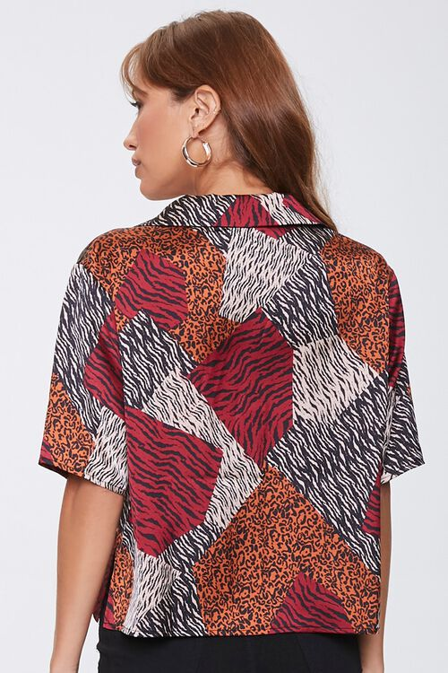 Boxy Animal Print Shirt, image 3