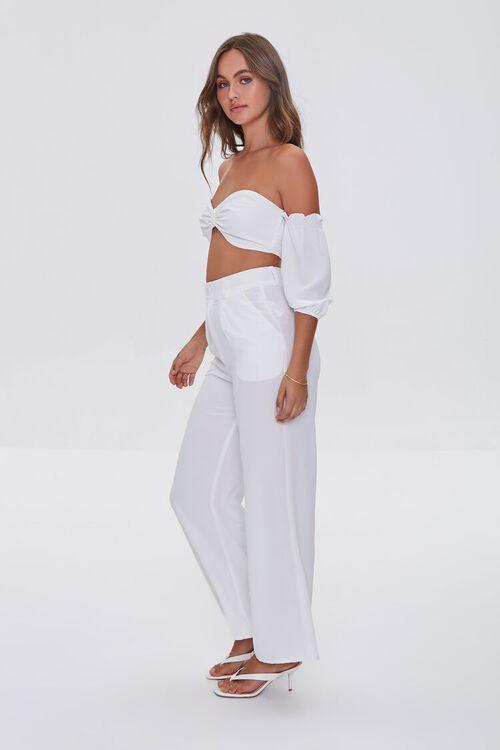 Crop Top and High-Rise Pants Set, image 2
