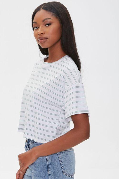 Striped Boxy Tee, image 2