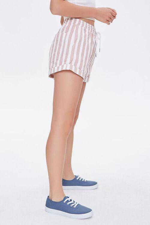 Striped Twill Shorts, image 3