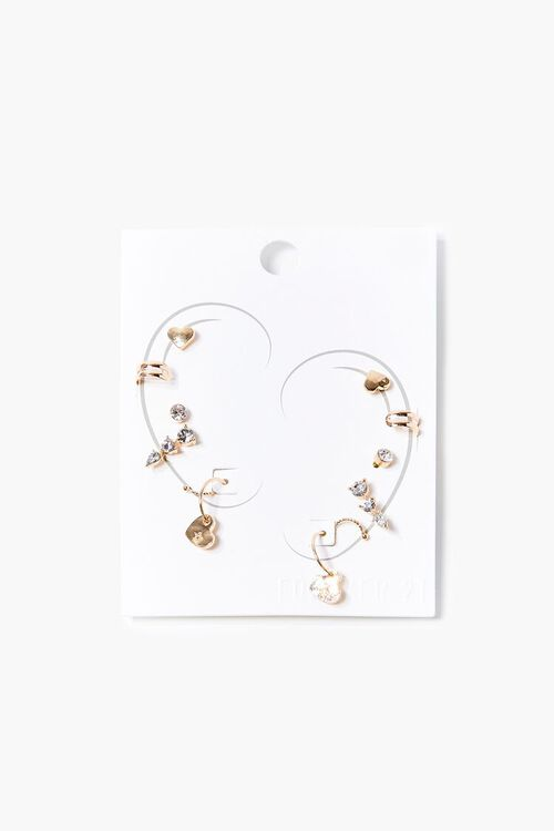 GOLD Variety Cuff & Stud Earring Set, image 1