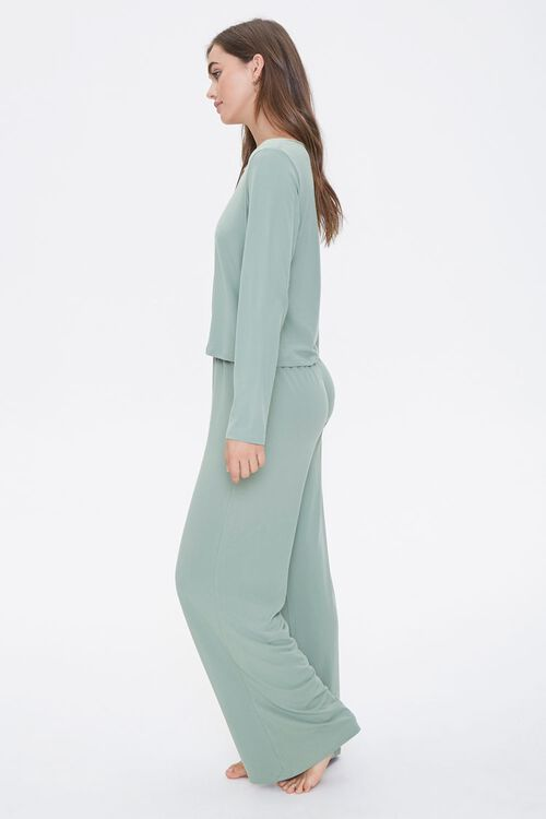 Pajama Top & Pants Set, image 2