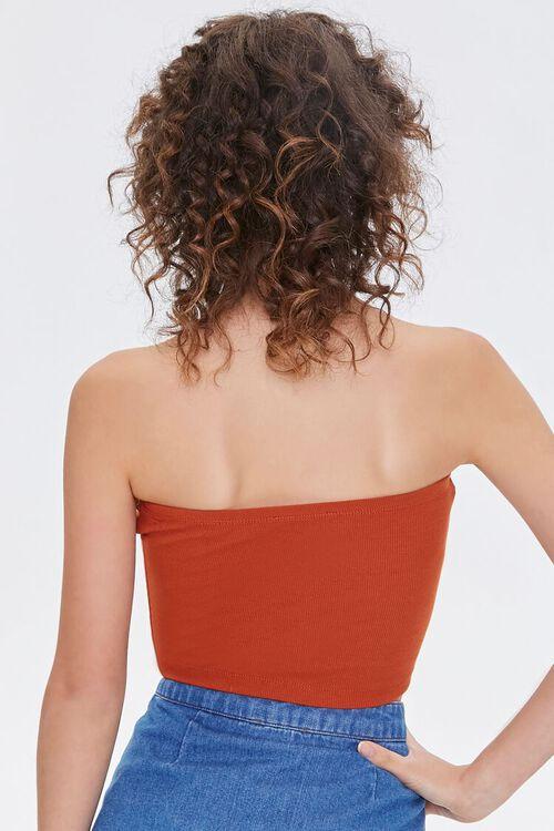 Ribbed Knit Tube Top, image 3