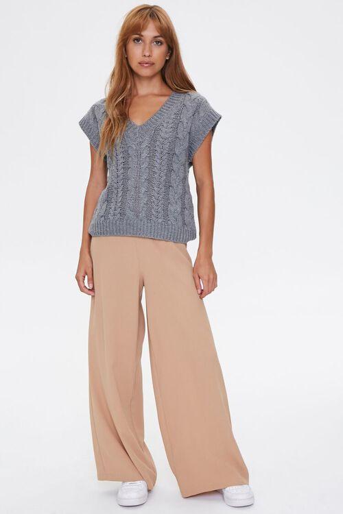 Pointelle Knit Sweater Vest, image 4