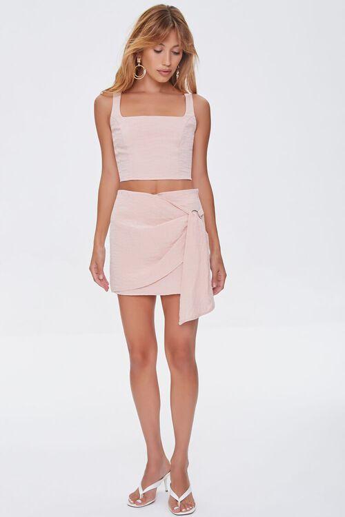 Overlay O-Ring Mini Skirt, image 5