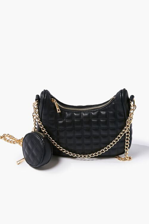 Quilted Chain-Strap Bag, image 3