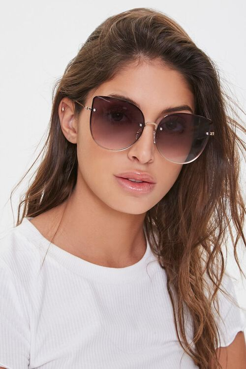 Oversized Cat-Eye Sunglasses, image 1