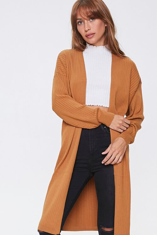 Ribbed Duster Cardigan, image 4