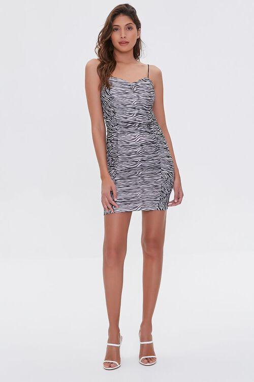 Zebra Print Bodycon Dress, image 4