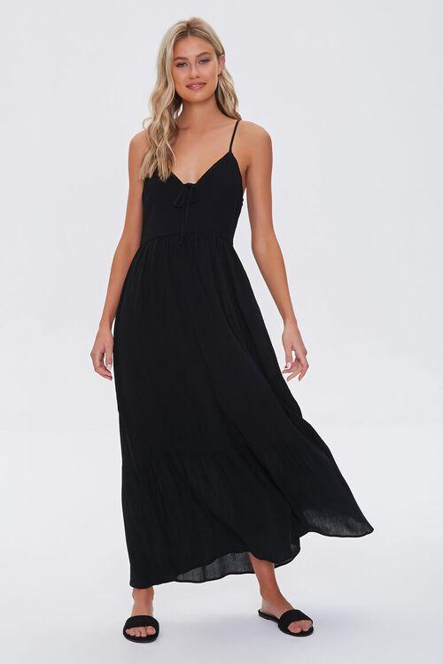 Plunging Maxi Cami Dress, image 4