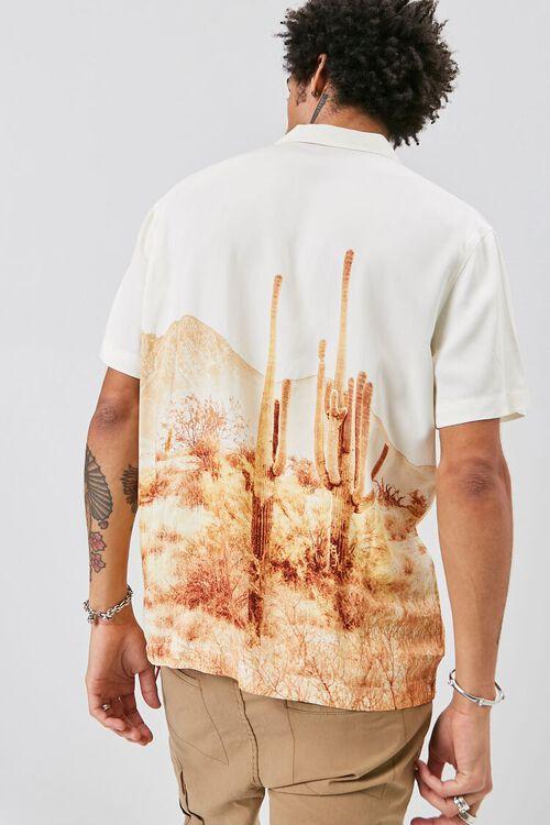 Classic Fit Desert Graphic Shirt, image 4